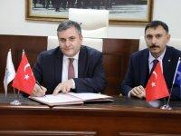 Çubuk'ta istihdam merkezi protokolü imzalandı