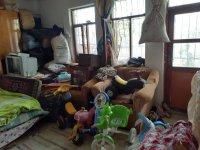 Çubuk'ta atık biriktirilmiş iki ev dezenfekte edildi