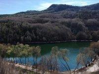 Karagöl'de ilkbahar güzelliği ziyaretçisiz kaldı