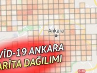 Ankara ilçeleri Covid-19 haritası son durum