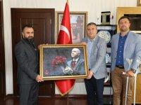 Gaziler Vakfı'ndan Çubuk Belediye Başkanı Demirbaş'a Ziyaret