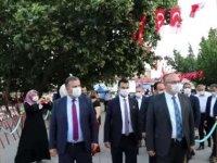 """Çubuk'ta vatandaşlar Atatürk Parkı'nda """"demokrasi nöbeti"""" tuttu"""