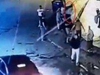 Çubuk'ta Eren'in bıçakla öldürüldüğü yol verme kavgası kameralara yansıdı