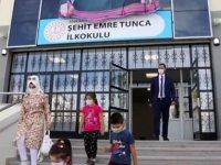 Çubuk'ta okullarda yüz yüze eğitim başladı