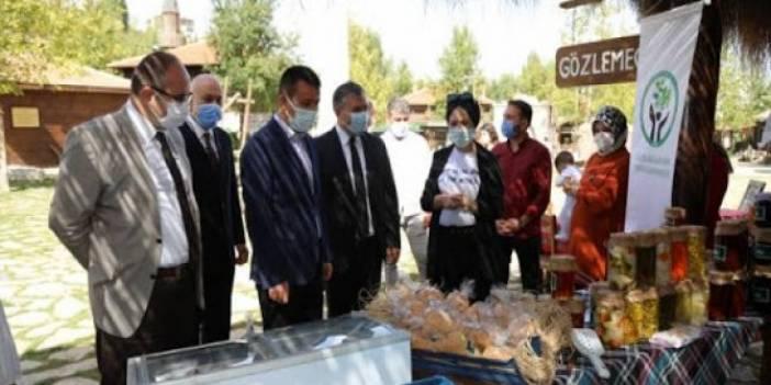 Çubuk'un yöresel ürünleri Altınköy'de beğeniye sunuldu