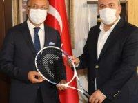 TTF Başkanı Durmuş'tan Çubuk'a ziyaret