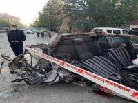 Çubuk'da trafik kazası! 1 yaralı