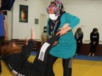 Çubuk'ta kadınlara özel judo kursu
