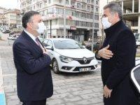 Mamak Belediye Başkanından Çubuk Belediye Başkanına ziyaret