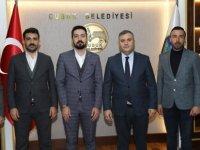 TÜGVA'dan Çubuk Belediye Başkanı Demirbaş'a ziyaret