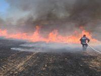 Çubuk'ta Arazi Yangını