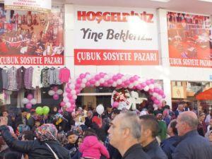 Çubuk Sosyete Pazarı İbocan İle Muhteşem Bir Açılış Yaptı