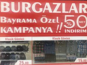 Burgazlar'da Bayrama Özel %50'iye Varan İndirim