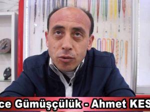 Esnaflarla Röportaj - İlçenin Sarraf ve Agat Taşı sanatkarı Ahmet Keser ile röportaj