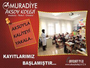 Muradiye Aksoy Koleji Anaokulu, İlkokul, Ortaokul