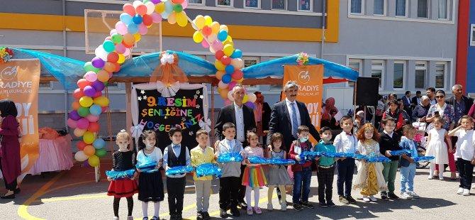 Aksoy Koleji 9. Neşeli Fırçam Resim Şenliği Düzenlendi